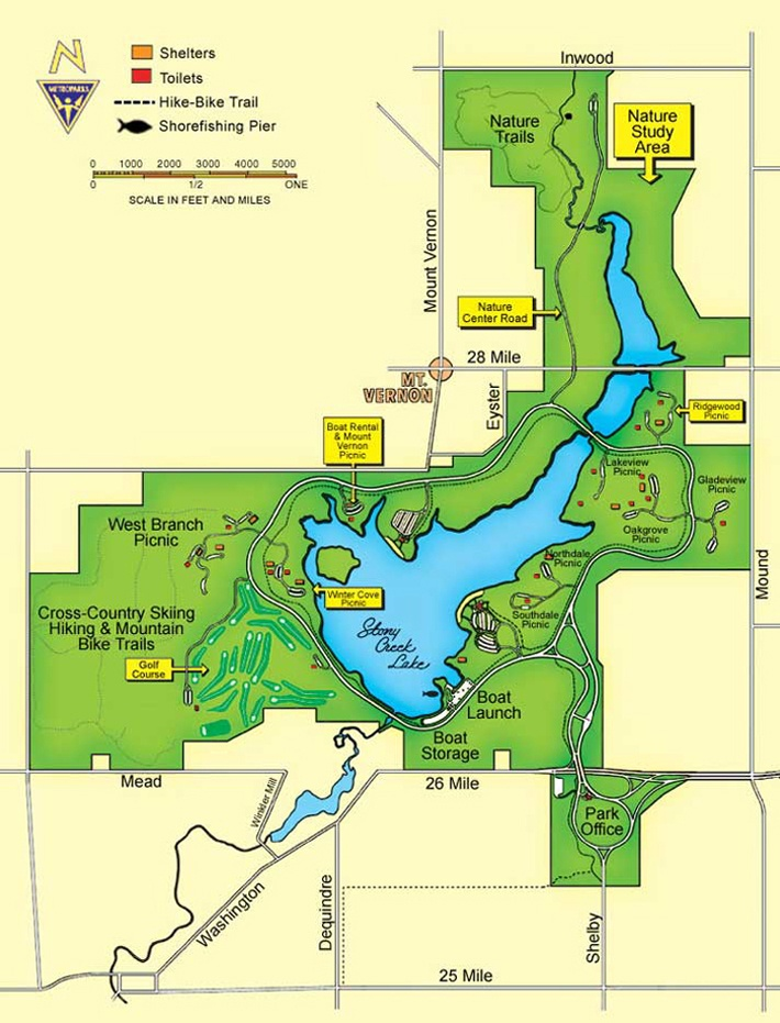 Stoney Creek Metro Park Nature Center